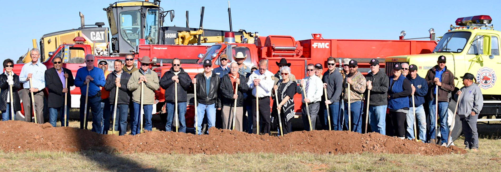 Ranchvale FD Groundbreaking
