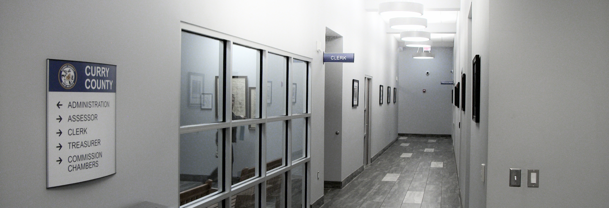 County Offices Hallway